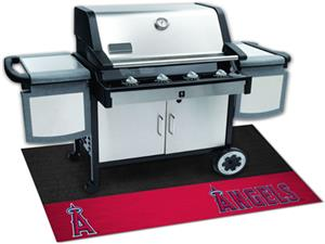 Fan Mats Los Angeles Angels Grill Mats