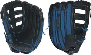 "DeMarini Rogue 14"" Blue All Pos. Slowpitch Glove"