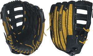 "DeMarini Rogue 14"" Yellow All Pos. Slowpitch Glove"