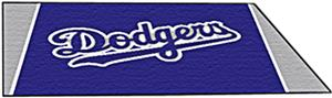 Fan Mats Los Angeles Dodgers 4' x 6' Rugs
