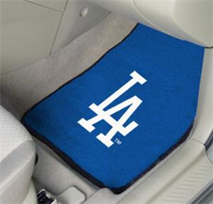 Fan Mats Los Angeles Dodgers Carpet Car Mats