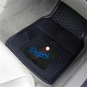 Fan Mats Los Angeles Dodgers Vinyl Car Mats
