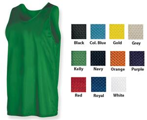Game Gear Adult Micro Mesh Basketball Tanks