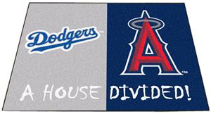 Fan Mats Dodgers/Angels House Divided Mats