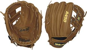 "A450 Youth 10.75"" All Positions Baseball Glove"