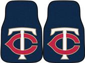 Fan Mats Minnesota Twins Carpet Car Mats (set)