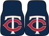 Fan Mats Minnesota Twins Carpet Car Mats (set)