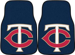 Fan Mats Minnesota Twins Carpet Car Mats