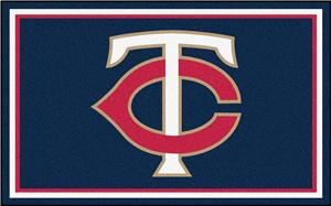 Fan Mats Minnesota Twins 4' x 6' Rugs