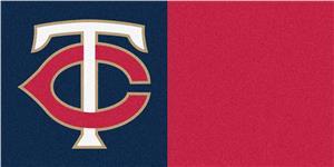 Fan Mats MLB Minnesota Twins Carpet Tiles