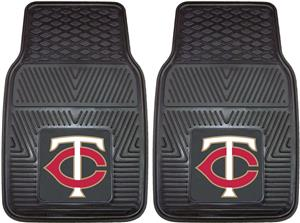 Fan Mats Minnesota Twins Vinyl Car Mats