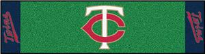 Fan Mats Minnesota Twins Putting Green Mats
