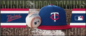 Fan Mats Minnesota Twins Baseball Runners