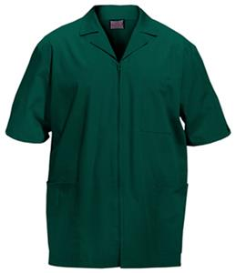 Cherokee Men&#39;s Zip Front Scrub Jacket