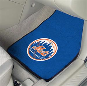 Fan Mats New York Mets Carpet Car Mats (set)