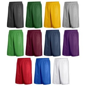 "Game Gear Men's 9"" Solid AM Basketball Shorts"