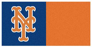 Fan Mats MLB New York Mets Carpet Tiles