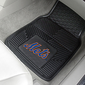 Fan Mats New York Mets Vinyl Car Mats (set)