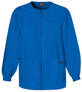 Cherokee Snap Front Warm-Up Scrub Jacket
