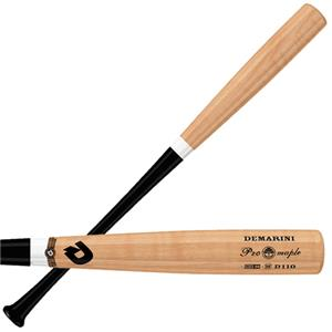 DeMarini D110 Pro Maple Composite Baseball Bats
