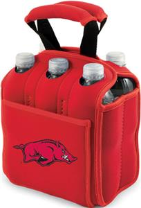 Picnic Time University of Arkansas 6-Pk Holder