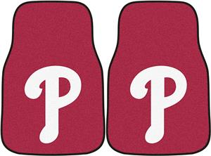 Fan Mats Philadelphia Phillies Carpet Car Mats