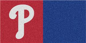 Fan MatsMLB  Philadelphia Phillies Carpet Tiles