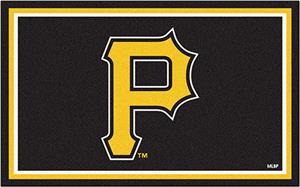 Fan Mats MLB Pittsburgh Pirates 4' x 6' Rugs