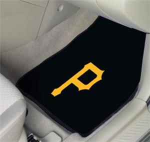 Fan Mats Pittsburgh Pirates Carpet Car Mats