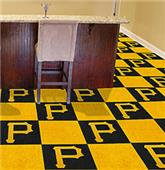 Fan Mats MLB Pittsburgh Pirates Carpet Tiles