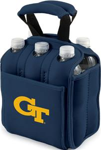 Picnic Time Georgia Tech 6-Pk Holder