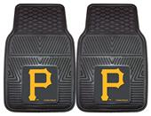Fan Mats Pittsburgh Pirates Vinyl Car Mats (set)