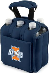 Picnic Time University of Illinois 6-Pk Holder