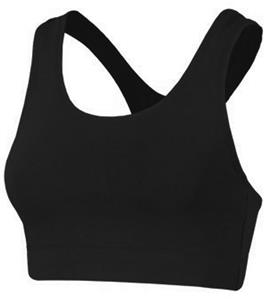 Game Gear Womens Cotton Racer Back Sports Bras