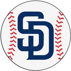 Fan Mats San Diego Padres Baseball Mats