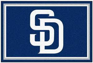 Fan Mats San Diego Padres 5' x 8' Rugs