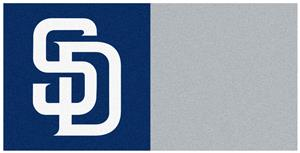 Fan Mats MLB San Diego Padres Carpet Tiles