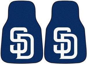 Fan Mats San Diego Padres Carpet Car Mats (set)