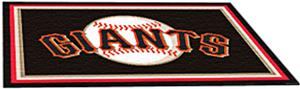 Fan Mats San Francisco Giants 4' x 6' Rugs