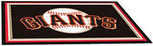 Fan Mats San Francisco Giants 5' x 8' Rugs