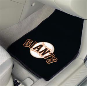Fan Mats San Francisco Giants Carpet Car Mats