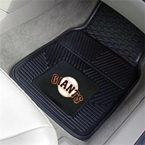 Fan Mats San Francisco Giants Vinyl Car Mats (set)