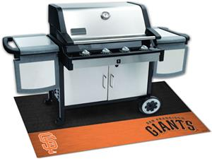 Fan Mats San Francisco Giants Grill Mats