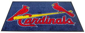 Fan Mats St Louis Cardinals 4' x 6' Rugs