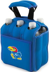 Picnic Time University of Kansas 6-Pk Holder