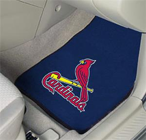 Fan Mats St Louis Cardinals Carpet Car Mats (set)