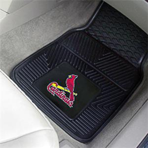 Fan Mats St Louis Cardinals Vinyl Car Mats