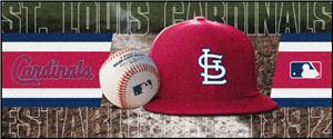 Fan Mats St Louis Cardinals Baseball Runners
