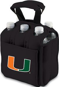 Picnic Time University of Miami 6-Pk Holder