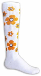 Red Lion Random Flower Athletic Socks
